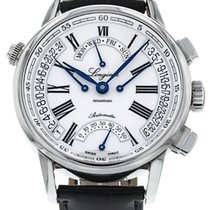 Longines Flagship Heritage Steel 41mm White Roman numerals
