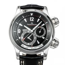 Jaeger-LeCoultre Master Compressor Geographic Steel 42mm Black United States of America, Texas, Houston