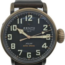 Zenith 29.2430.679/21.C753 Bronze Pilot Type 20 Extra Special 45mm pre-owned United States of America, Florida, Naples