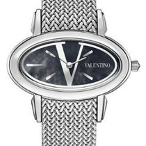 Valentino Steel 40mm Quartz V50SBQ9999 S099 new