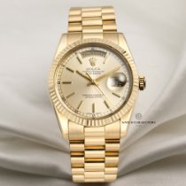 Rolex 118238 Yellow gold 2002 Day-Date 36 36mm pre-owned United Kingdom, London