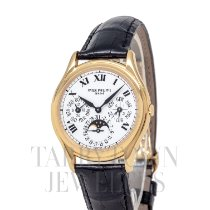 Patek Philippe 3940J Yellow gold Perpetual Calendar 36mm pre-owned United States of America, New York, Hartsdale