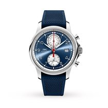 IWC Portuguese Yacht Club Chronograph Steel 43.5mm Blue Arabic numerals United States of America, New York, New York