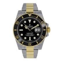Rolex Submariner Date 116613LN Unworn Gold/Steel 40mm Automatic