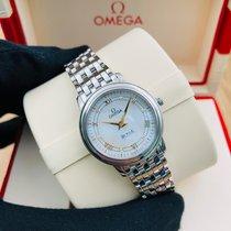 Omega De Ville Prestige Steel 27.4mm White
