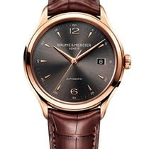 Baume & Mercier Clifton Roségold 38.8mm Grau