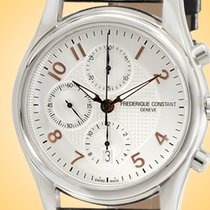 Frederique Constant Runabout Chronograph Steel 43mm Silver