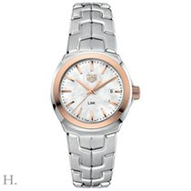 TAG Heuer Link Lady Gold/Steel 32mm Mother of pearl
