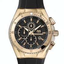 Technomarine Gold/Steel 45mm Quartz 110051 new