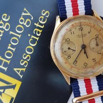 Aerowatch Or jaune 37mm Remontage manuel Landeron 18K Gold occasion