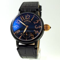 Krieger new Manual winding Skeletonized Display Back 43mm Rose gold Sapphire Glass