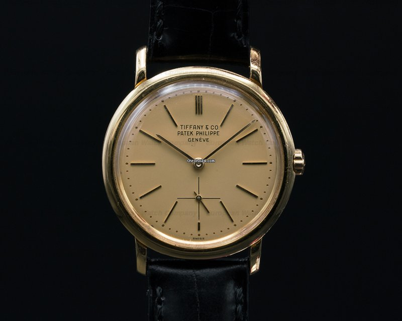 Patek Philippe 3440 Vintage Automatic 18K / Champagne TIFFANY... for  $12,900 for sale from a Trusted Seller on Chrono24