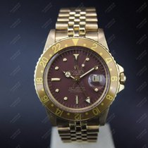 勞力士 (Rolex) GMT-Master - Full Gold - Nipples - Brown dial