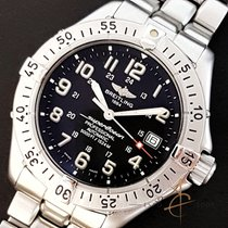 Breitling 41.5mm Automatic 2000 pre-owned Superocean (Submodel) Black
