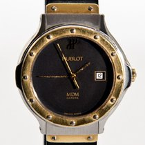 Hublot MDM Depose (0,750) 18 K Solid Yellow Gold & Steel