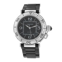 Cartier Authentic Mens  Seatimer 2790 Steel Automatic 40MM