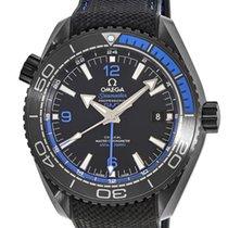 Omega Seamaster Planet Ocean Ceramic 45.5mm Black Arabic numerals