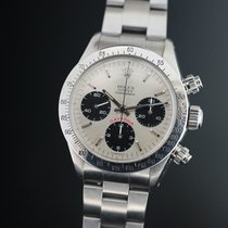 Rolex Daytona Ref 6265 Big Red Silver
