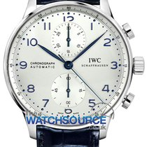 IWC Steel 40.9mm Automatic Portuguese Chronograph new