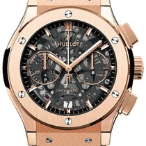 Hublot Classic Fusion Aerofusion new Automatic Chronograph Watch with original box and original papers 525.ox.0180.lr
