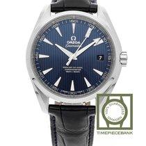 Omega Seamaster Aqua Terra Steel 41.5mm Blue No numerals