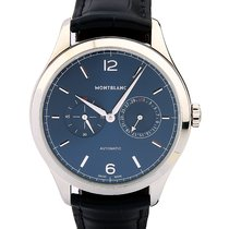Montblanc Heritage Blue Dial 40mm Steel