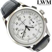 Patek Philippe Chronograph 5170G silver dial white gold 18KT...