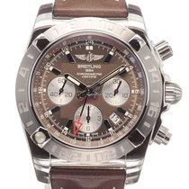 Breitling Chronomat 44 GMT Stahl 44mm Arabisch