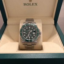 "Rolex Submariner Date ""Hulk"" 116610 Green Dial"