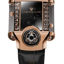 Christophe Claret 41mm Manual winding new Black