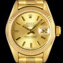 Rolex 69178 Or jaune 1985 Lady-Datejust 26mm occasion