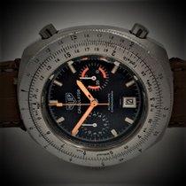 Heuer Chronographe 45mm Remontage automatique 1972 occasion Bleu