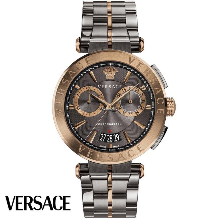 Versace VBR05 0017 Aion Chronograph VBR050017 za Kč 20 555 k prodeji od  Seller na Chrono24 274b6e1ab94