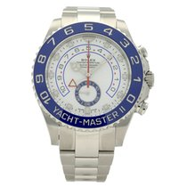 Rolex Yacht-Master II Steel 44mm White No numerals United Kingdom, Liverpool