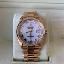 Rolex 18038 Yellow gold 1986 Day-Date 36 36mm pre-owned United States of America, New York, Brooklyn