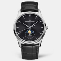 Jaeger-LeCoultre Master Ultra Thin Moon Steel 39mm Black No numerals United States of America, Iowa, Des Moines