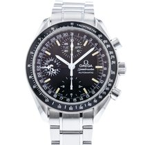 Omega 3520.50.00 Steel Speedmaster Day Date 39mm pre-owned