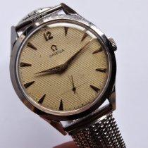 Omega Acier 36mm Remontage manuel 2605-9 occasion