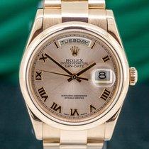 Rolex Day-Date 36 Rose gold 36mm Roman numerals United States of America, Massachusetts, Boston