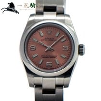 Rolex Oyster Perpetual 26 Stahl 26mm Pink