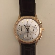 Glashütte Original Senator Chronograph pre-owned 39mm Silver