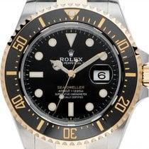 Rolex Sea-Dweller 4000 Zlato/Ocel 43mm Černá
