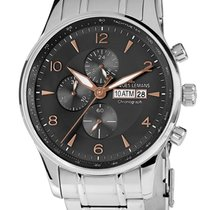Jacques Lemans Classic London Steel 44mm Black