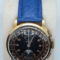 Chronographe Suisse Cie Rose gold 37.5mm Manual winding pre-owned