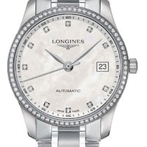 Longines Master Collection Steel 36mm Mother of pearl United States of America, New York, Airmont