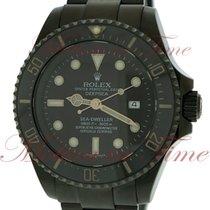 Rolex Sea-Dweller Deepsea 44mm Negro Sin cifras