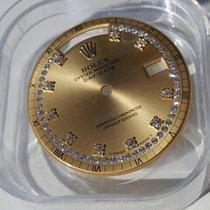 Rolex 18K Diamond String Dial Day Date Zifferblatt rare 18238 etc