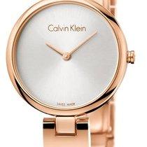 ck Calvin Klein Acero 28mm Cuarzo K8G23646 nuevo