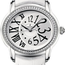 Audemars Piguet Millenary Ladies pre-owned 39mm Silver Leather