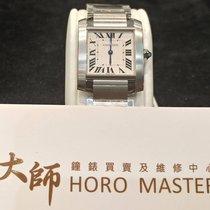 Cartier HOROMASTER-卡地亚 (Cartier) Tank Francaise Midsize